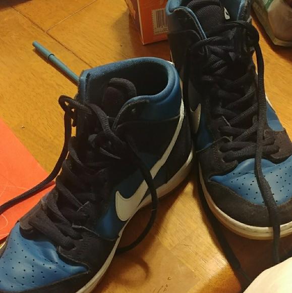 Nike Sb Dunk High Pro Industrial Blue